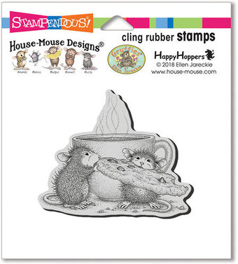 Cookie Crumbles - House Mouse Cling Rubber Stamp