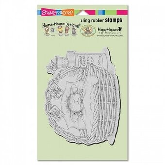 Quick Recovery - House Mouse Cling Rubber Stamp