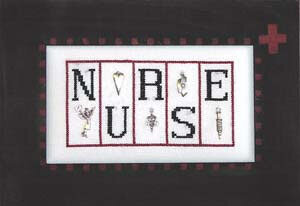 Nurse - Cross Stitch Pattern