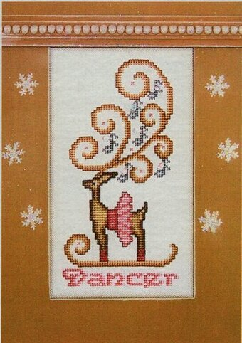 Dancer - Cross Stitch Pattern