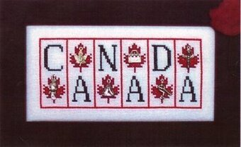 Canada - Cross Stitch Pattern