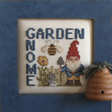 Garden Gnome - Cross Stitch Pattern
