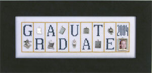 Graduate - Cross Stitch Pattern