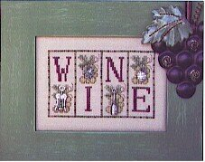 Wine - Cross Stitch Pattern