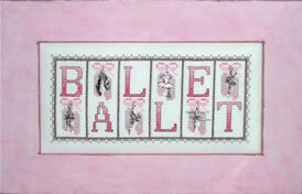 Ballet - Cross Stitch Pattern