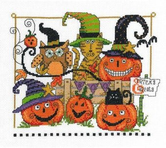 Boo Friends - Cross Stitch Kit