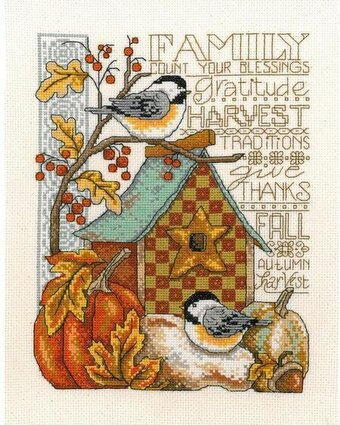 Family Blessing - Cross Stitch Kit