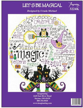 Let's Be Magical - Halloween Counted Cross Stitch Kit