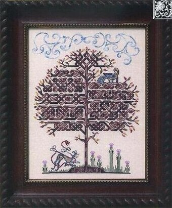 Tanglewood - Cross Stitch Pattern