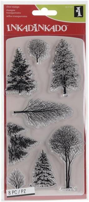 Inkadinkado Woodland Wonderland Clear Stamp 60 31297