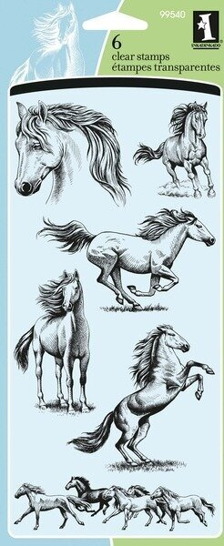 Horses - Clear Stamp