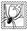 Halloween Stamp - Cling Rubber Stamp