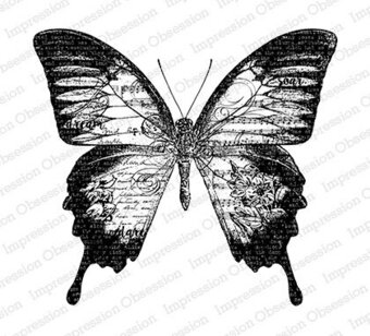 Big Butterfly - Cling Rubber Stamp
