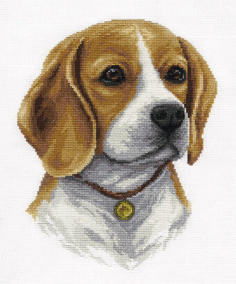 Beagle - Cross Stitch Kit