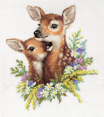 Fawns - Cross Stitch Kit
