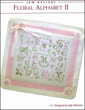 Floral Alphabet II - Cross Stitch Pattern