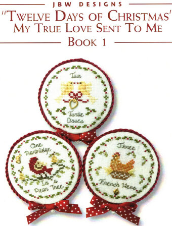 Twelve days of Christmas - Book 1 - Cross Stitch Pattern