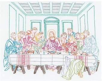Last Supper - Embroidery Kit