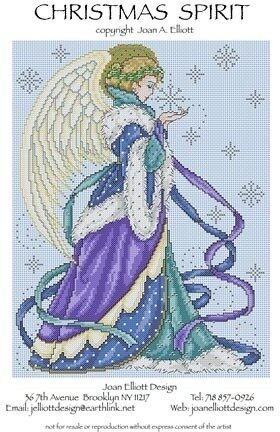 Christmas Spirit - Cross Stitch Pattern