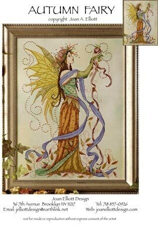 Autumn Fairy - Cross Stitch Pattern