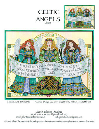 Celtic Angels - Cross Stitch Pattern