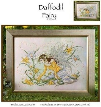 Daffodil Fairy - Cross Stitch Pattern