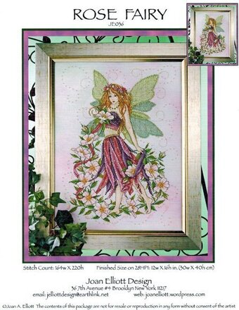 Rose Fairy - Cross Stitch Pattern