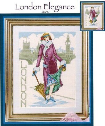 London Elegance - Cross Stitch Pattern