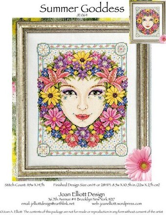 Summer Goddess - Cross Stitch Pattern