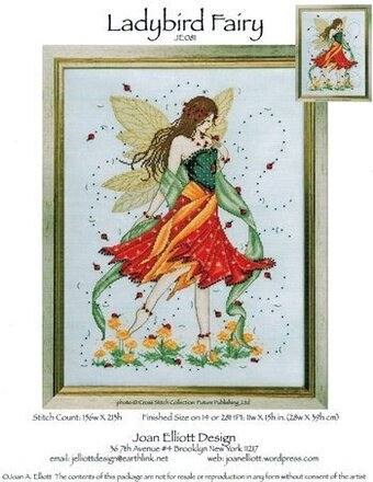 Ladybird Fairy - Cross Stitch Pattern