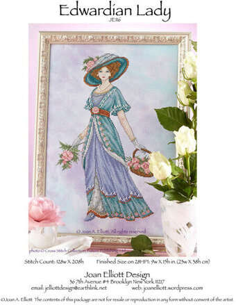 Edwardian Lady - Cross Stitch Pattern