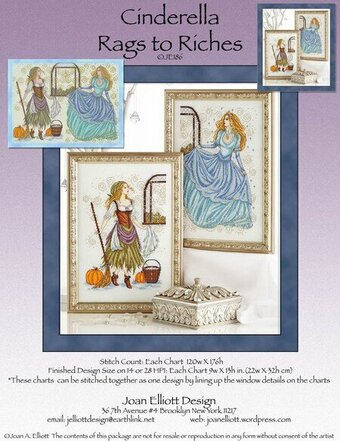 Cinderella Rags To Riches - Cross Stitch Pattern