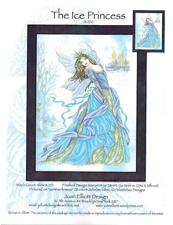 Ice Princess, The - Cross Stitch Pattern