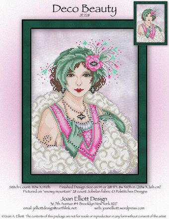 Deco Beauty - Cross Stitch Pattern