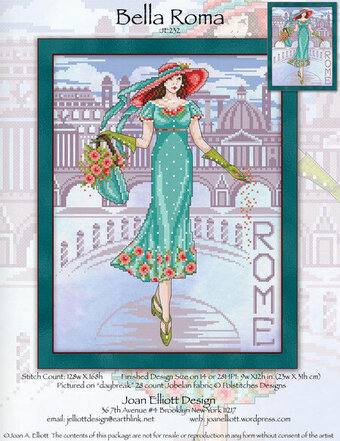 Bella Roma - Cross Stitch Pattern