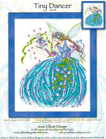 Tiny Dancer - Cross Stitch Pattern