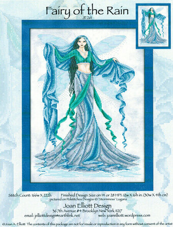 Fairy of the Rain - Cross Stitch Pattern