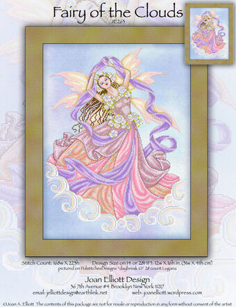 Fairy of the Clouds - Cross Stitch Pattern
