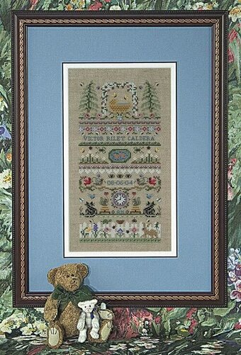 Baby Garden - Cross Stitch Pattern