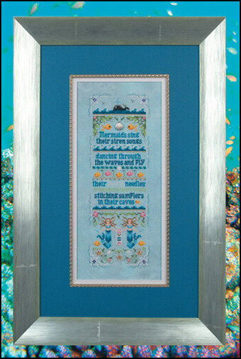 Sirens of the Sea - Cross Stitch Pattern