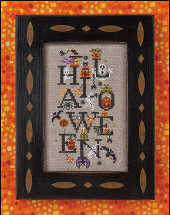 Halloween Party - Cross Stitch Pattern