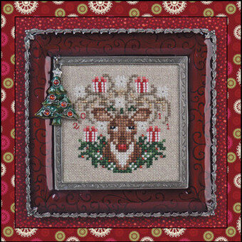 Rudy Reindeer - Cross Stitch Pattern