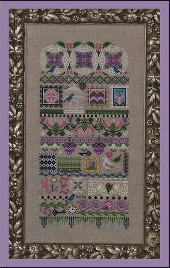 Motif Mystique (with embellishments) - Cross Stitch Pattern