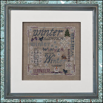 Winter Typography - Cross Stitch Pattern