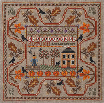 Autumn in the Country - Cross Stitch Pattern
