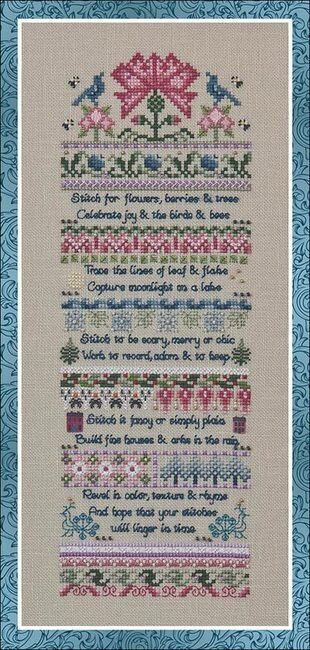 Rhyme & Reasons - Cross Stitch Pattern