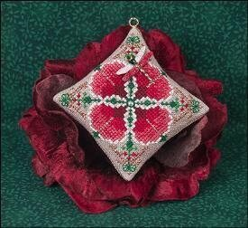 Christmas Dragon Ornament- Cross Stitch Pattern