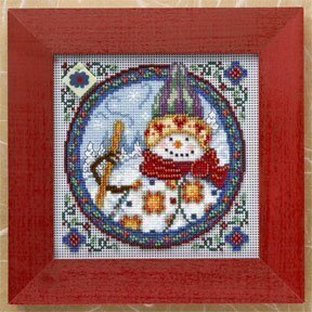 Northern Snowman Cross Stitch Kit