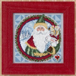 Father Christmas Cross Stitch Kit