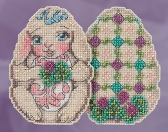 Bunny Egg - Jim Shore - Cross Stitch Kit